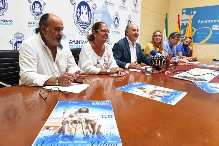 RUEDA DE PRENSA SOBRE LA ROMERÍA MARÍTIMA EN HONOR A LA VIRGEN DE LA PALMA1