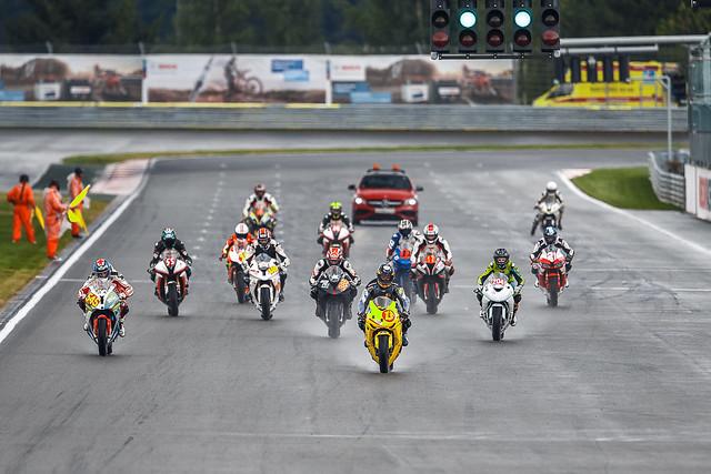 Финал Российского Супербайка на Moscow Raceway
