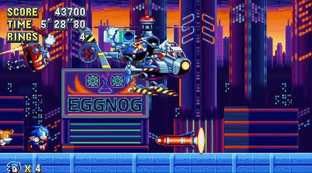 Sonic Mania - Studiopolis Patronu