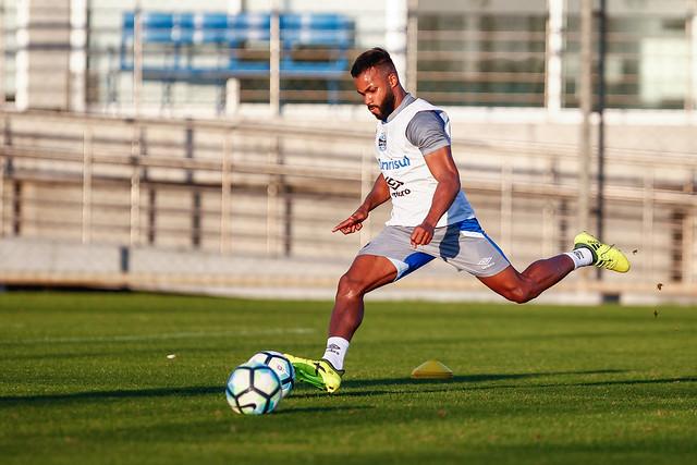 Treino Grêmio 18/08/17