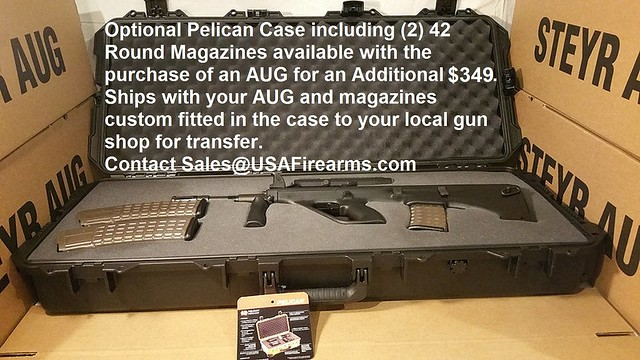 AUG PELICAN CASE