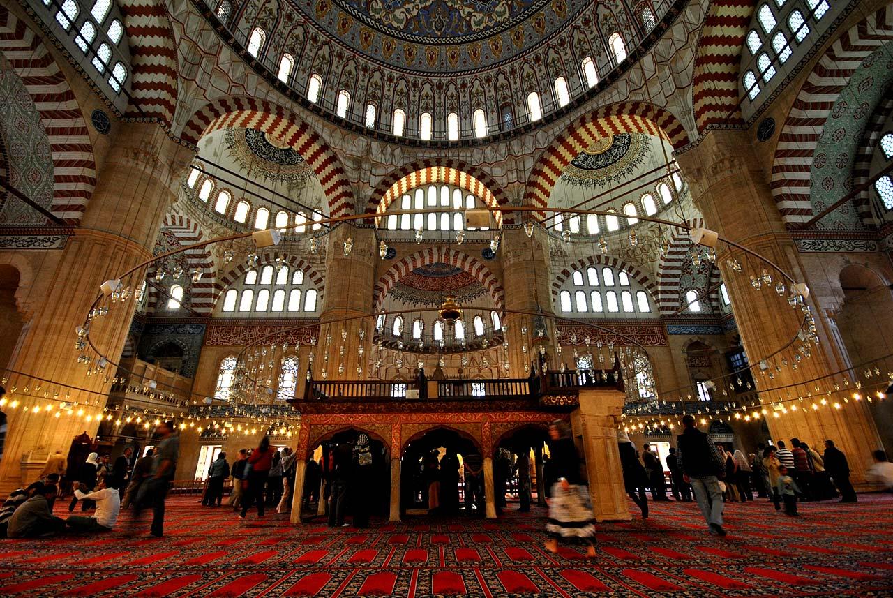 Muezzin Mahfili of Edirne Selimiye Mosque
