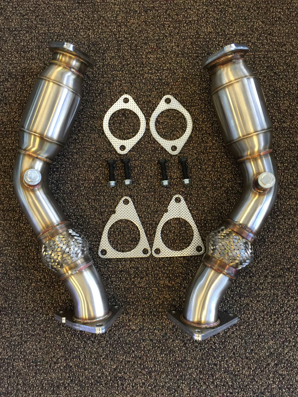 Motordyne Exhaust with Resonated Test Pipes - Infiniti Q50 Forum