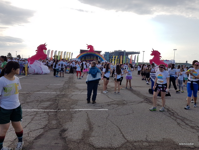 Color Run 2017 in Toronto