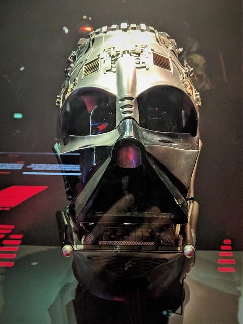 Vader's Helmet from RotJ Detail