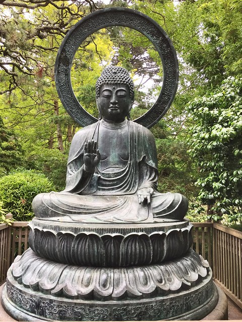 Japanese Tea Garden Budha
