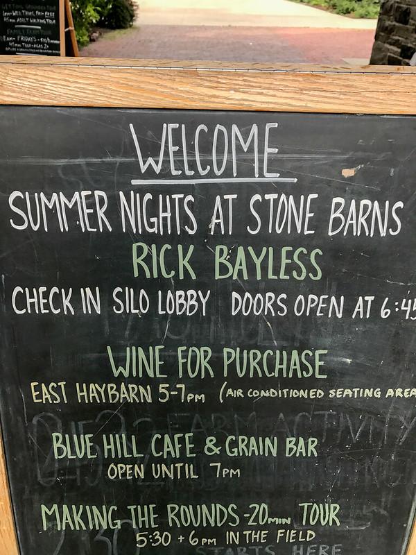 Rick Bayless at Blue Hill