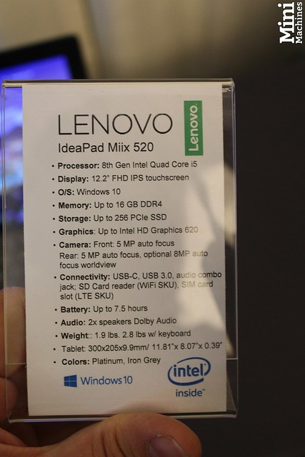 Lenovo Miix 520 - 00