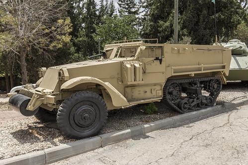 M3 Half-track upgraded