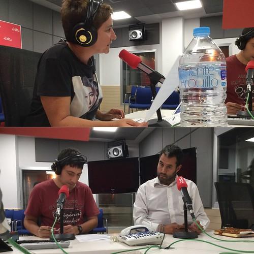 Colaboración en Ganbara, de Radio Euskadi
