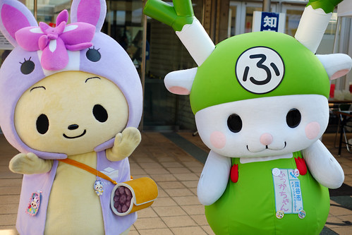 Chiryuppi(Chiryu City, Aichi Pref.) & Fukka-Chan(Fukaya City, Saitama Pref.)