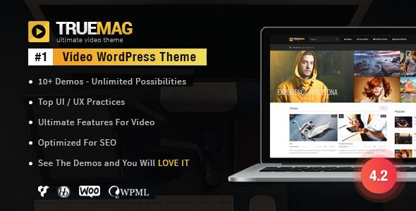 True Mag v4.2.11.1 – WordPress Theme for Video and Magazine