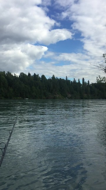 Fishing the Kenai with Auntie Val