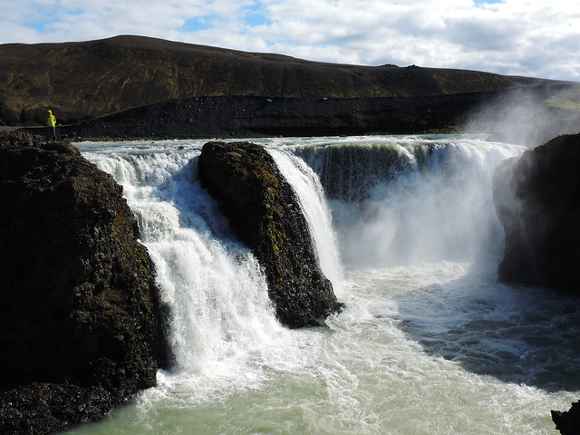 Breathtaking Canyons In Iceland: Sigöldufoss, Highlands, Iceland