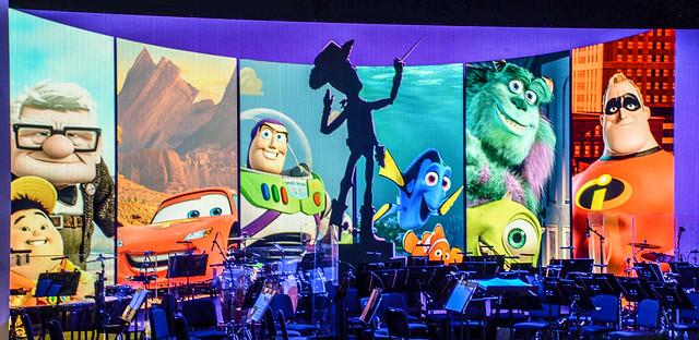 Pixar concert backdrop DHS