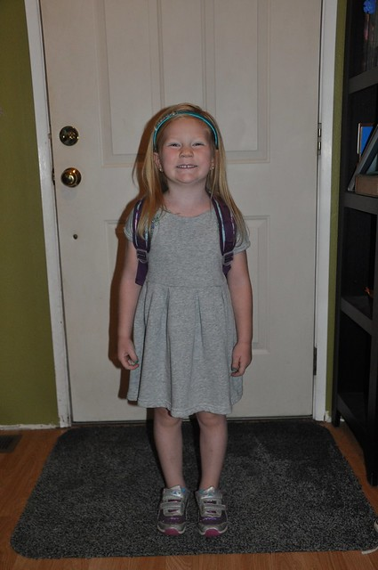 Hadley First Day of Pre-K