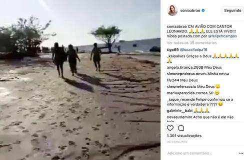 barriga Sonia Abrão