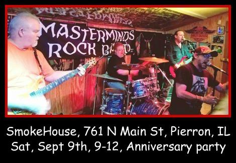 Masterminds Rock Band 9-9-17