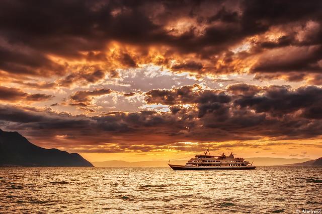 Lake Leman, Montreux