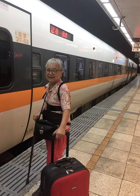 搭乘普悠瑪火車 (3)