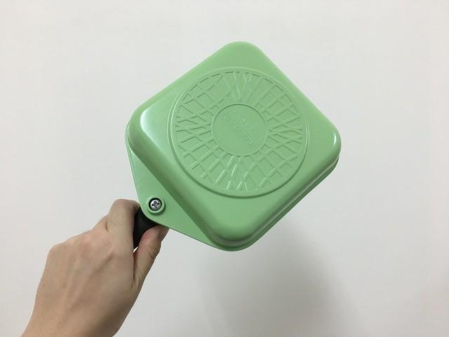 背面@韓國NEOFLAM Egg Pan系列陶瓷不沾蛋捲鍋