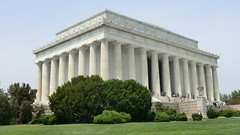Washington D.C.: Abraham-Lincoln-Memorial