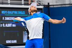 2017 US Open Tennis - Qualifying Rounds -  Radu Albot (MDA) [27] def. Frank Dancevic (CAN)
