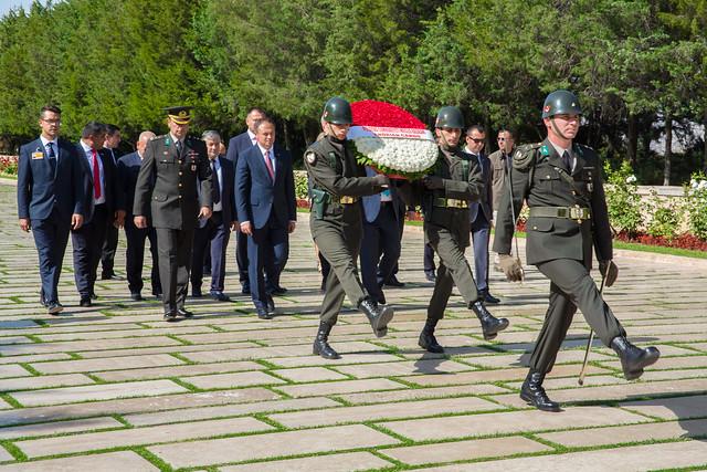 depuneri de flori. Turcia. 13.09.2017