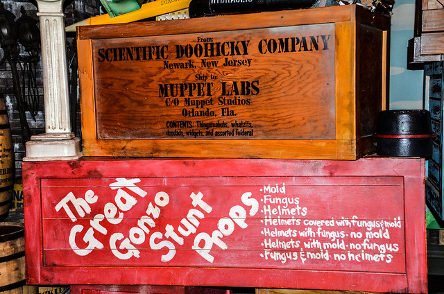 Muppet Vision props DHS