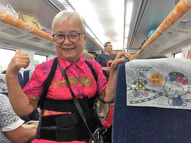 搭乘普悠瑪火車 (19)
