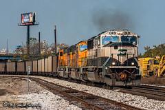 BNSF 9747 | EMD SD70MAC | BNSF Thayer South Subdivision