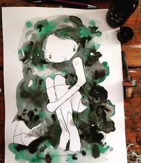 #green #ink #melbourneart #barekworld