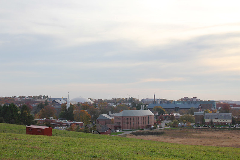 View Of Campus, From Horsebarn Hill