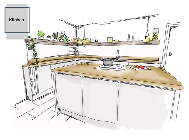 FDA Kitchen Design Student Gallery