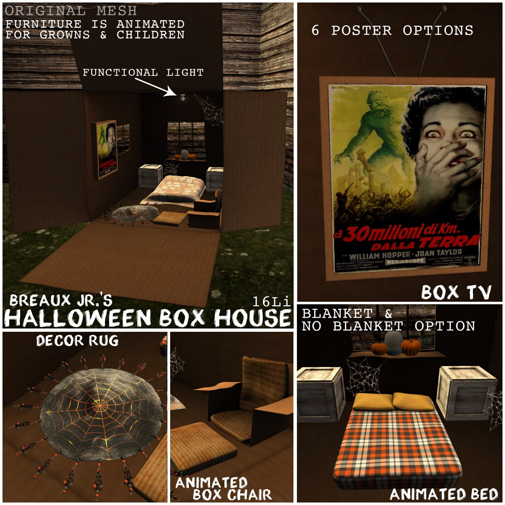 WILLOWVALE EXCLUSIVE PRIZE: Halloween Box House - Breaux Jr. - TeleportHub.com Live!