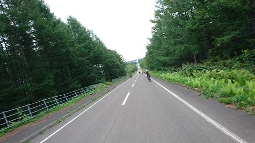 北海道らしいまっすぐな道