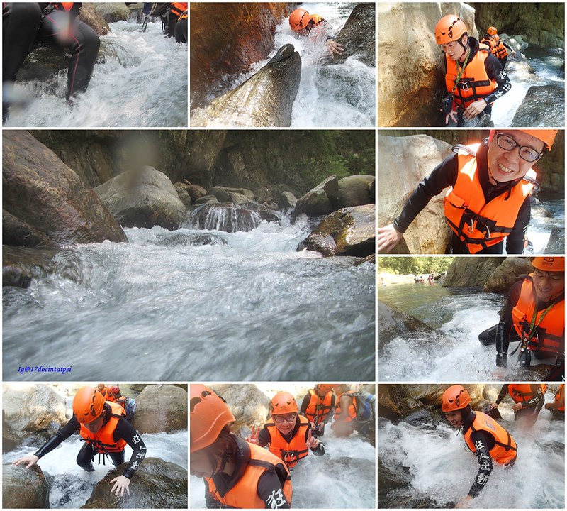 宜蘭溯溪-狂人出動-鹿皮溪-金岳瀑布-17度c隨拍 (12)