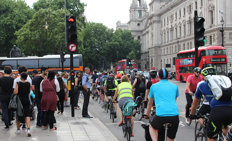 Cycle superhighway, London