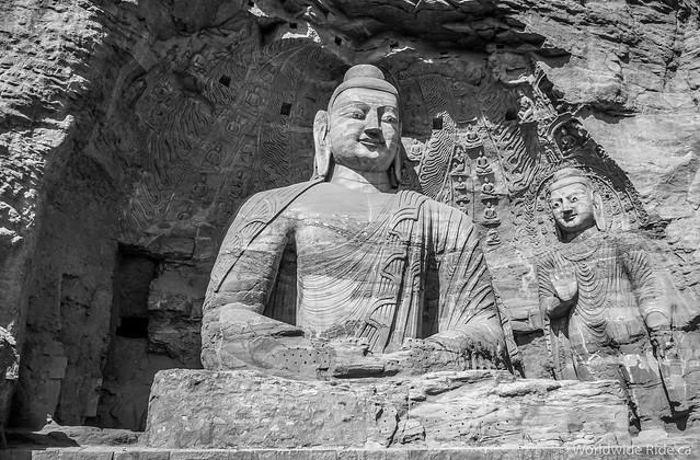 China Datong Grottos-21