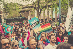 Rainbow March For Marriage Equality Melbourne, 1st October 2017