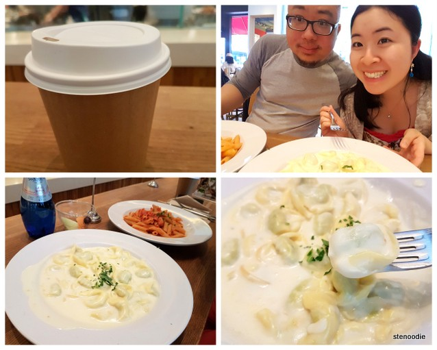 Barilla food collage