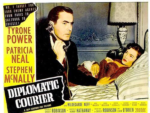 Diplomatic Courier - lobbycard 2
