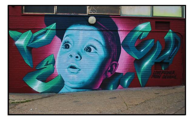 STREET ART by LOVEPUSHER & MONDEVANE