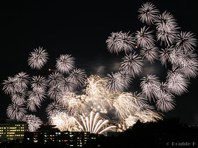 distant view of Biwako Fireworks Festival 2017 (9)