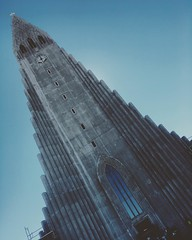(#streetview) #Hallgrímskirkja | Situated in the centre of #Reykjavík, it is one of the city's best-known landmarks and is visible throughout the city. State Architect Guðjón Samúelsson's design of the #church was commissioned in 1937. He is said to have