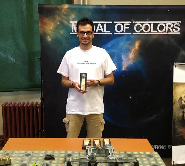 Medal of Colors Horus Heresy 2017 silver word bearers
