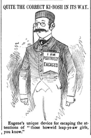 quite the correct ki-bosh in its way (1880)