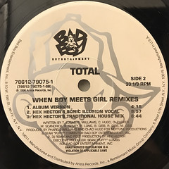 TOTAL:DO YOU THINK ABOUT US(LABEL SIDE-B)