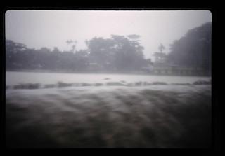 Flooded River At Habiganj = ハビガンジュの町の川の洪水