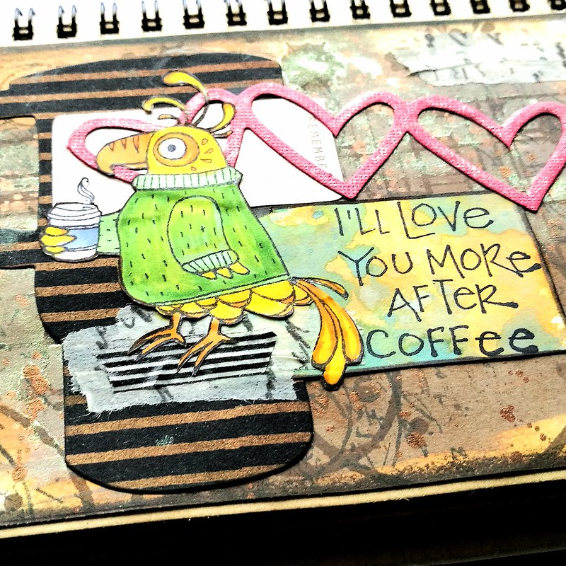 Art Journal: I'll love you more after coffee